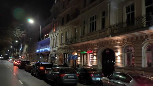 Kolejka samochodów w Szczecinie, fot. Alicja Wirwicka