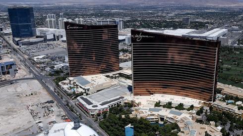 Opustoszałe Las Vegas. Fot. Ethan Miller / GETTY IMAGES / AFP
