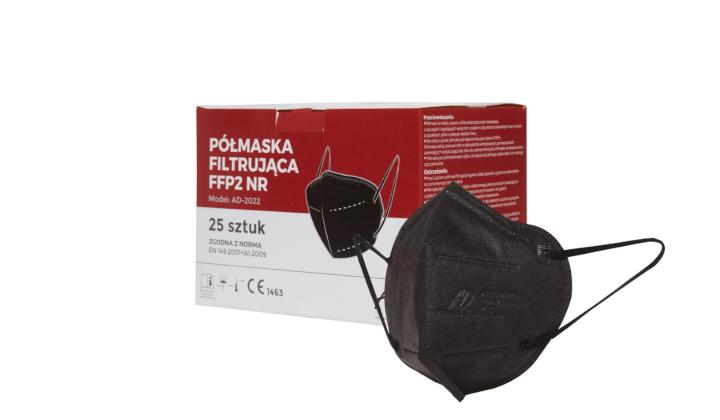 Maseczki filtrujące FFP2 (25 sztuk)