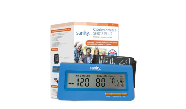 Ciśnieniomierz Serce Plus Sanity