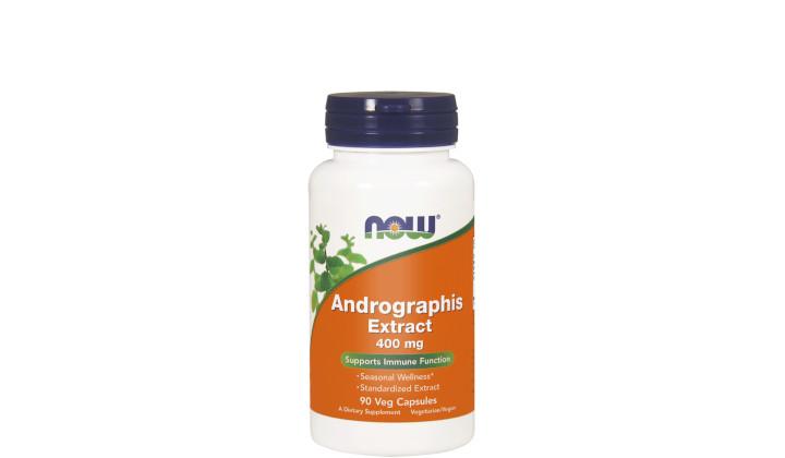 Andrographis Extract 400 mg – suplement diety na infekcję i przeziębienie