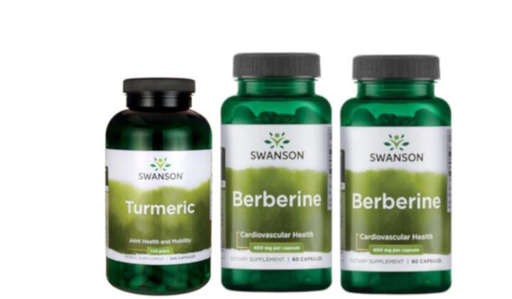 Berberyna + Kurkuma - zestaw suplementów na stany zapalne