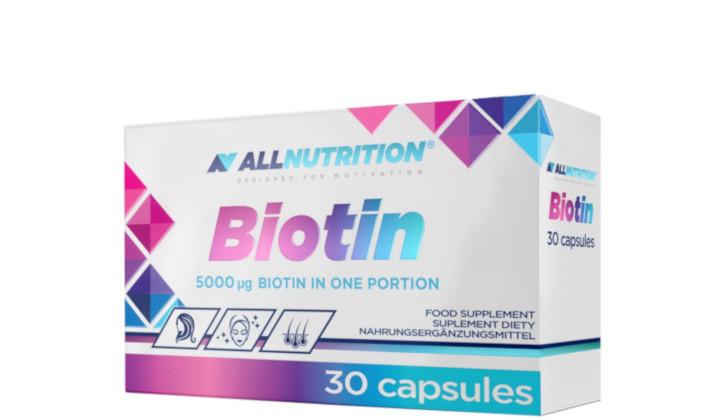 Biotyna 5 mg – suplement diety na piękny wygląd