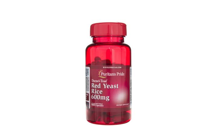 Czerwony ryż drożdżowy 600 mg - naturalne źródło żelaza