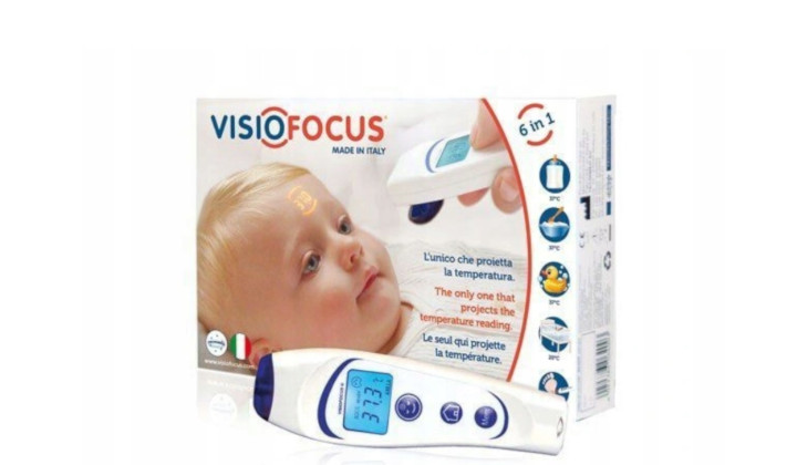 Elektroniczny termometr bezdotykowy Visiofocus 06400