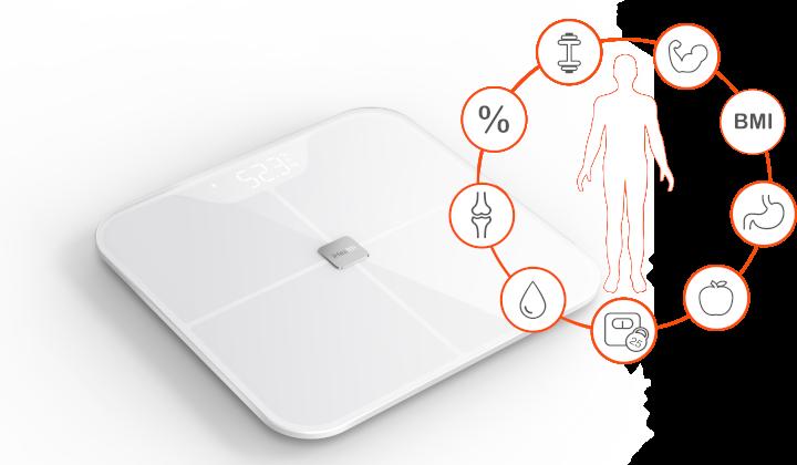 Waga do analizy ciała - iHealth Fit