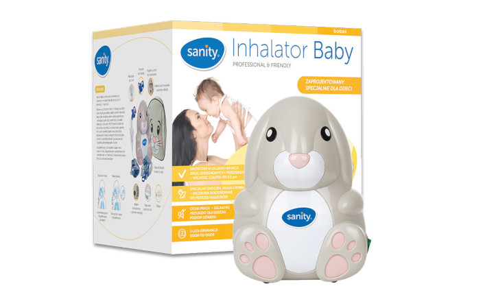 Inhalator Baby Sanity