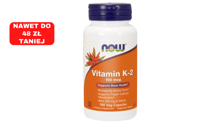 Witamina K2 – suplement diety na krzepliwość krwi