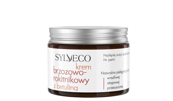 Krem brzozowo-rokitnikowy Sylveco z betuliną do codziennej pielęgnacji twarzy