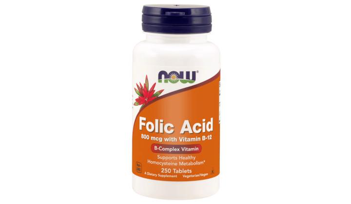 Zestaw suplementów na gospodarkę hormonalną – kwas foliowy + B-50