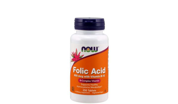 Kwas foliowy 800 mcg – wsparcie procesów krwiotwórczych i metabolicznych