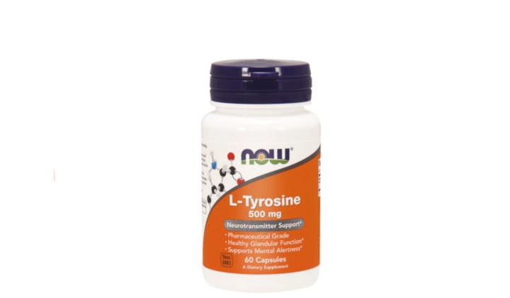 L-tyrosine 500 mg - wsparcie koncentracji i układu nerwowego