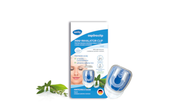 Mini-inhalator Clip
