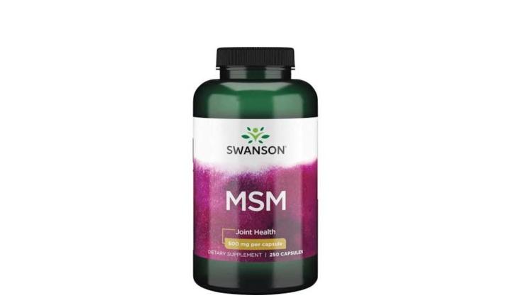 MSM 500 mg - suplement diety poprawiający stan stawów i mięśni