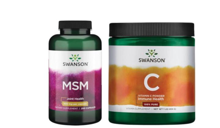 MSM i Witamina C - zestaw suplementów na stawy