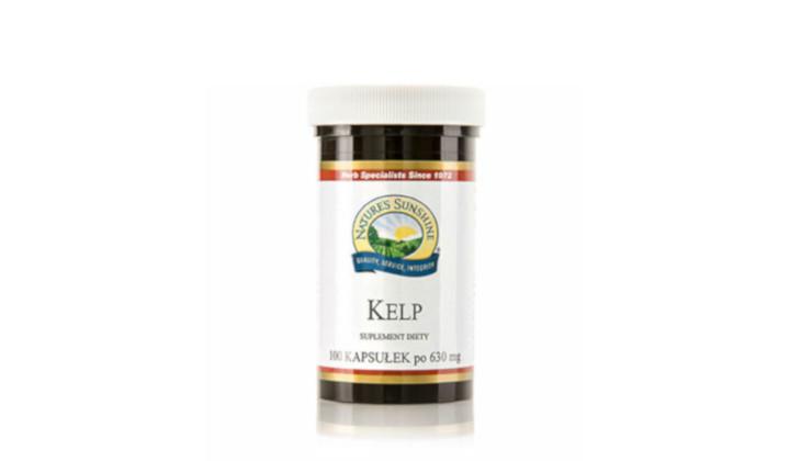 Kelp 630 mg - suplement diety z jodem na wsparcie tarczycy