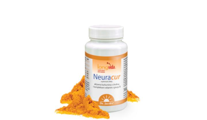 NeuraCur – suplement diety z kurkuminą i choliną