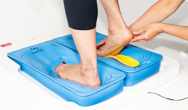 Badanie komputerowe stóp i wykonanie wkładek do butów