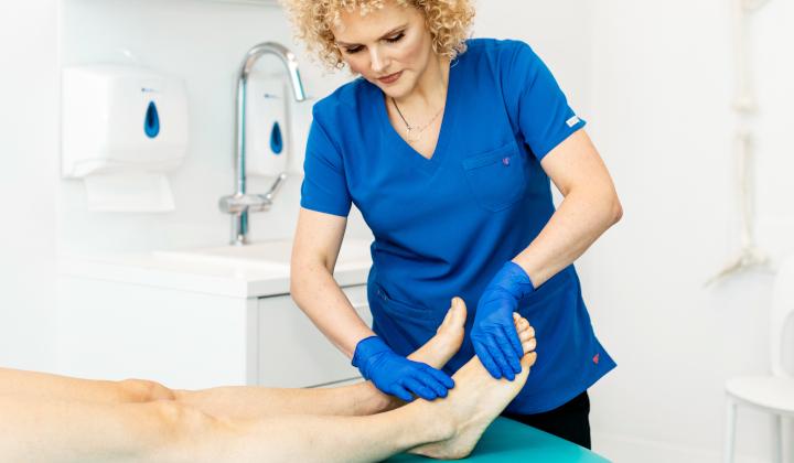 Konsultacja kontrolna z podologiem i serwisowanie wkładki ortopedycznej