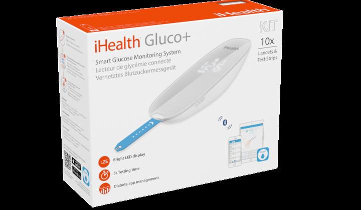 Glukometr iHealth Gluco zestaw BG5S