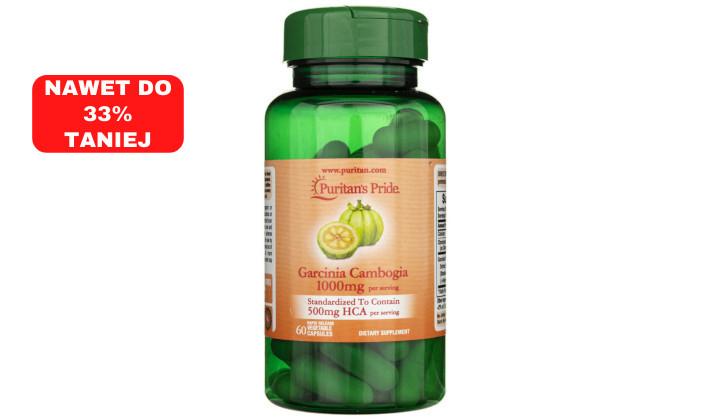 Garcinia Cambogia 1000 mg – wsparcie w odchudzaniu