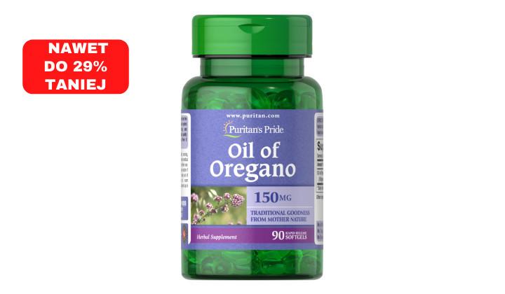 Olejek z oregano 150mg - naturalny antybiotyk