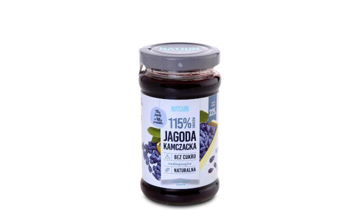 Konfitura Natjun z jagody kamczackiej 115%