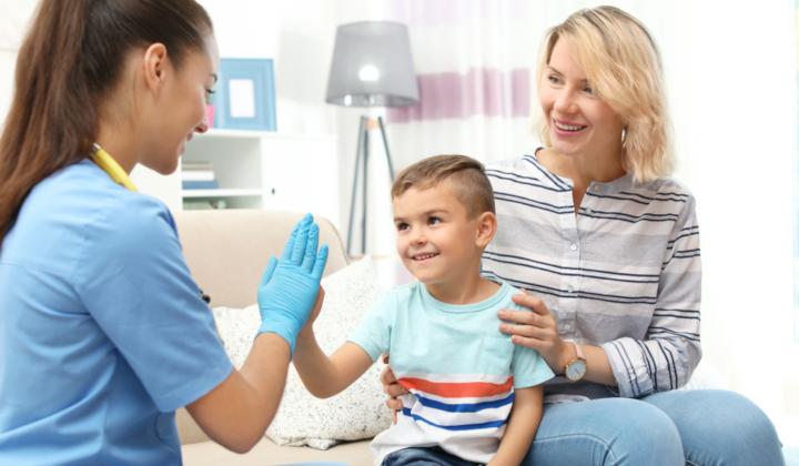Wizyta domowa pulmonologa dziecięcego