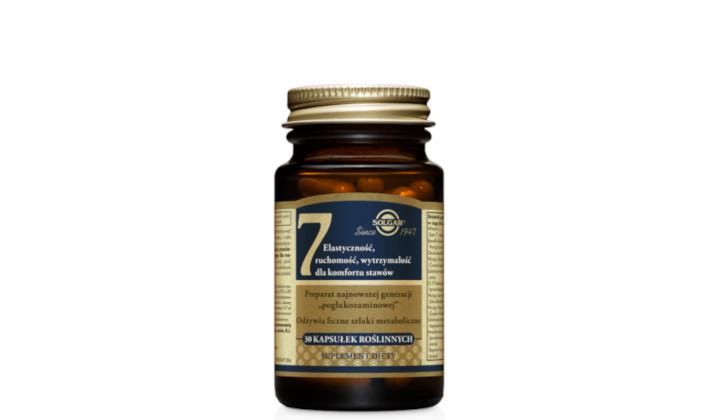 Solgar 7 - suplement na mocne kości i stawy