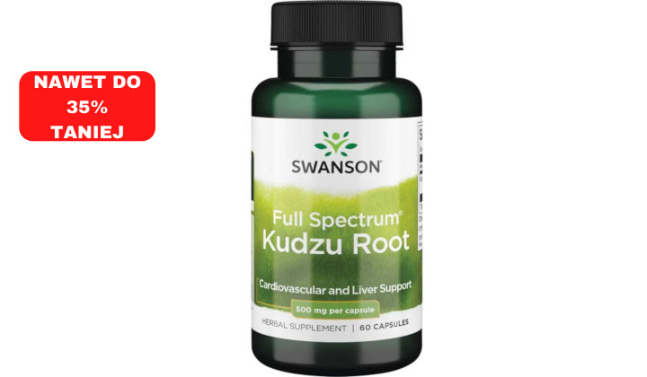 Kudzu 500 mg – suplement diety oczyszczajacy organizm