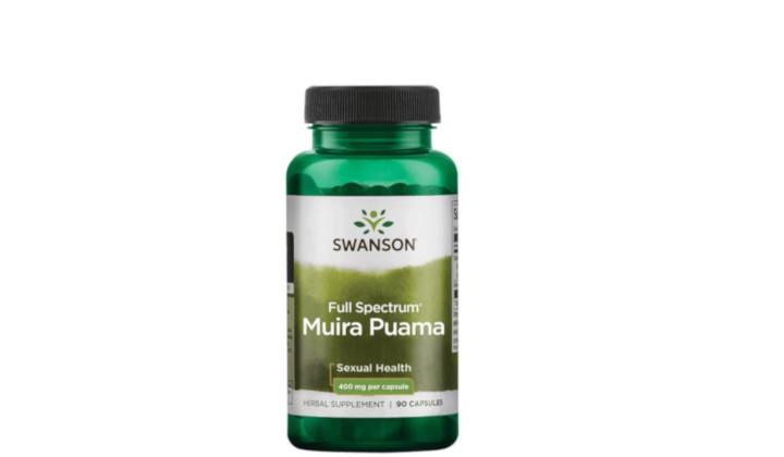 Muira Puama 400 mg – suplement diety na libido
