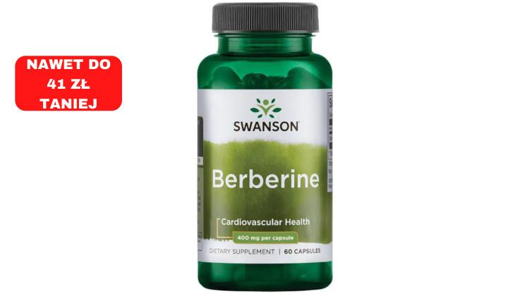 Berberyna 400 mg - suplement diety na metabolizm