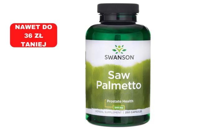 Palma sabałowa 540 mg – suplement diety Saw Palmetto na łysienie i poziom testosteronu