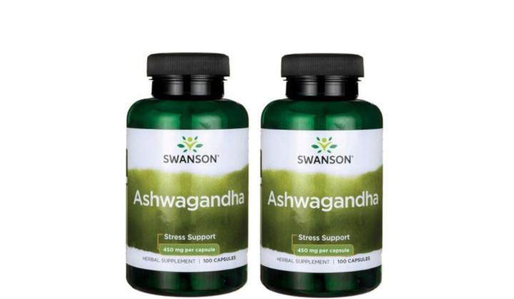 DWUPAK Ashwagandha 450 mg - poprawa samopoczucia i wydolności organizmu