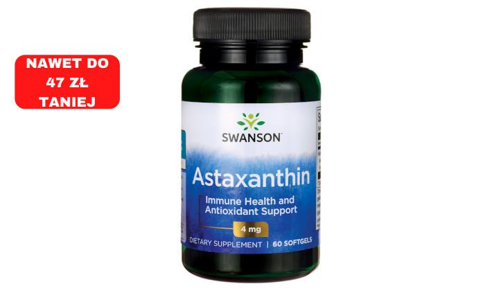 Astaksantyna - suplement diety o właściwościach odmładzających