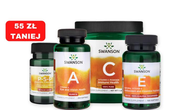 Bomba witaminowa - zestaw witamin C + E +A + B6
