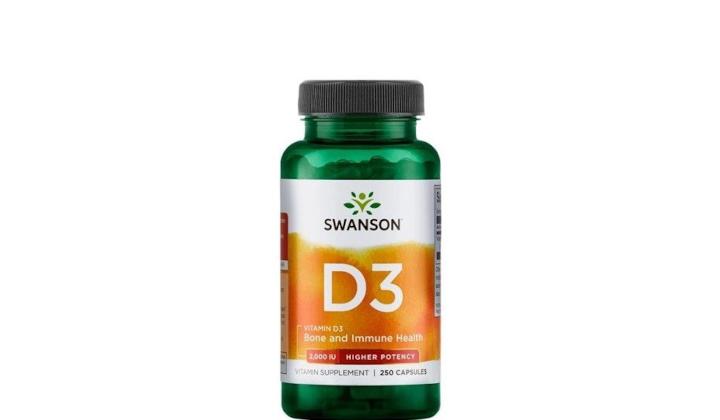 Witamina D3 2000 IU – suplement diety na kości i zęby