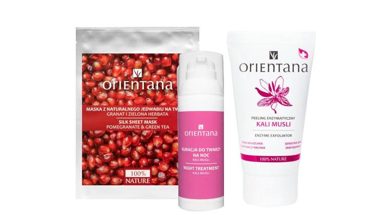 Zestaw kojących kosmetyków Orientana do cery wrażliwej