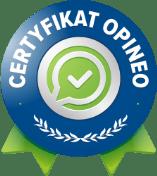 Certyfikat Opineo
