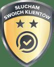 Odznaka złota Opineo