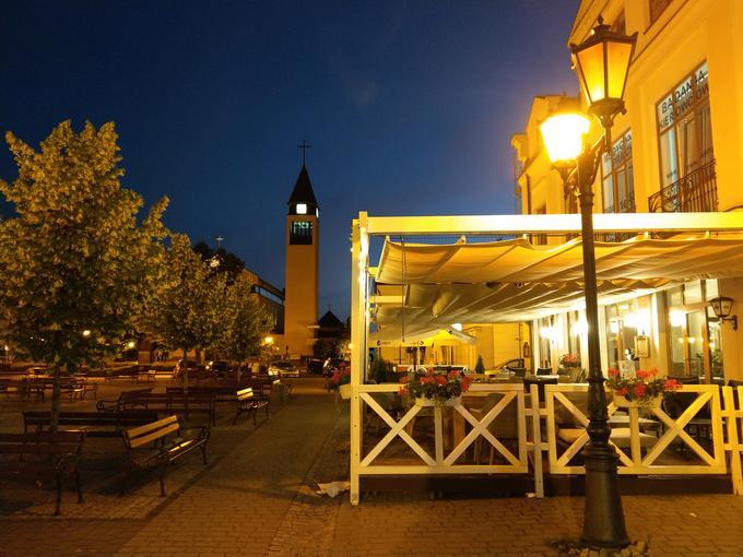 HTC U11 zdjęcie nocne