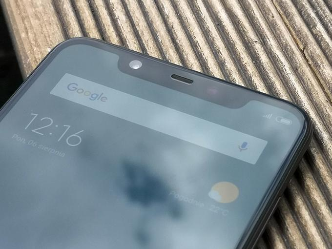 Xiaomi Mi 8 notch