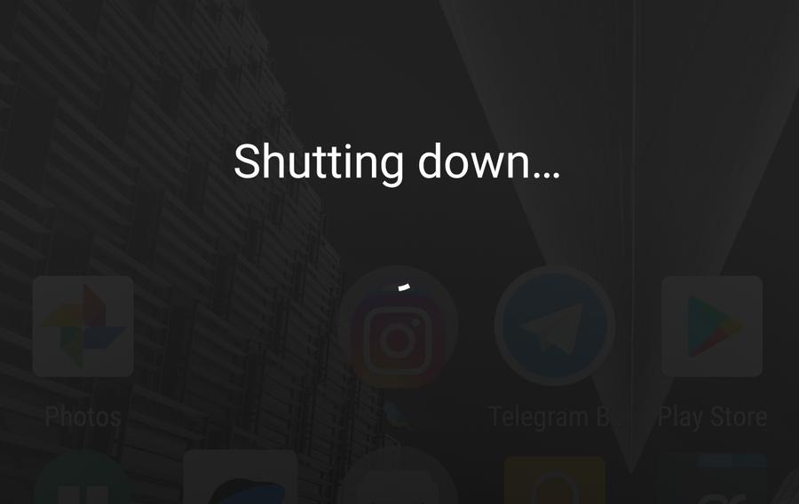 Android zamykanie systemu
