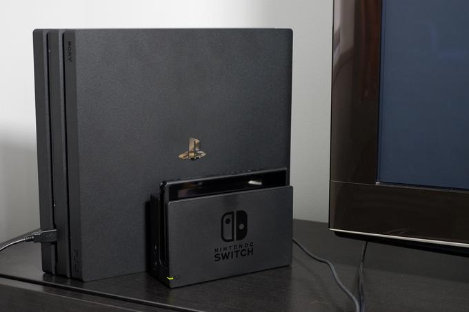 Switch vs PS4 Pro