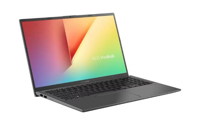 Cienki laptop Asus VivoBook kosztujący około 3500 zł