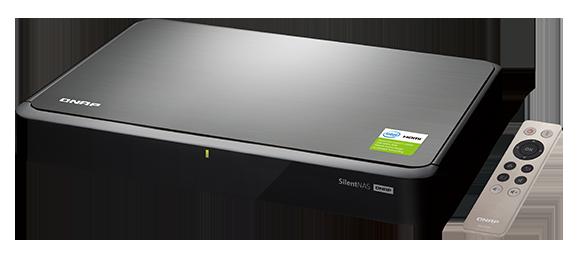 QNAP HS-251+ to jedno z ciekawszych urządzeń - nie tylko wygląda elegancko, ale ma także wyjście HDMI, pilota zdalnego sterowania i jest chłodzone pasywnie. Idealne urządzenie do postawienia wprost pod telewizorem.