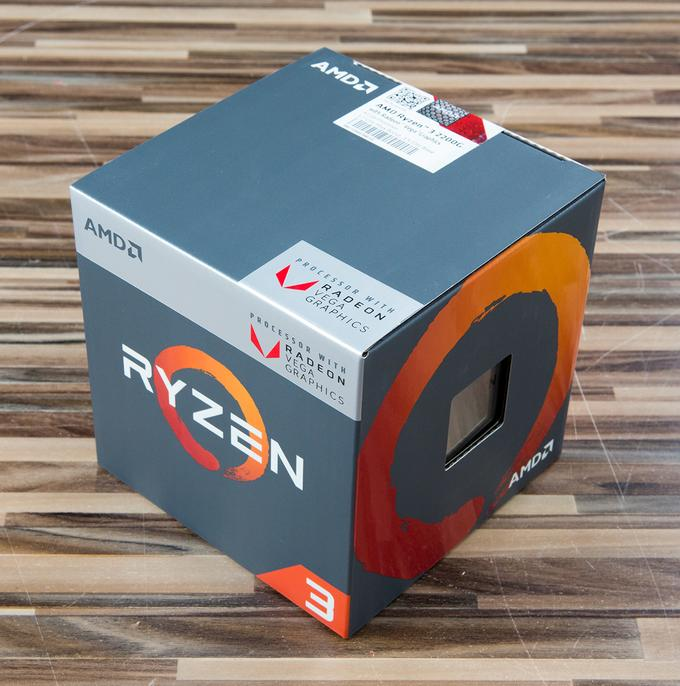 Ryzen 3 box