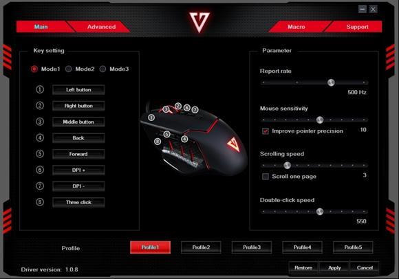 Modecom Volcano MC-GMX4 oprogramowanie