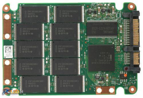 SSD w środku