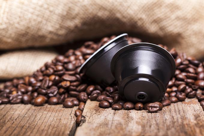 Kapsułka z kawą